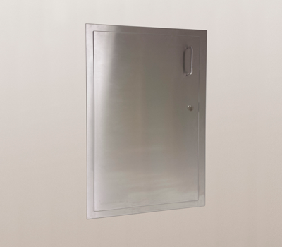 Wall mounted inlet